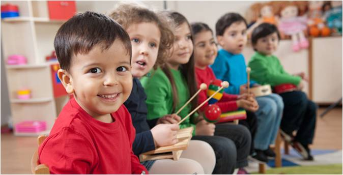music programs and classes are designed to include music story movement and the exploration of all musical instruments for all preschool children - Images Of Preschool Children